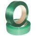 Banda PET Verde-Benzi Pentru Paletizare