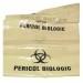 Saci polietilena inscriptionati PERICOL BIOLOGIC