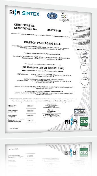 Certificare Rina Simtex